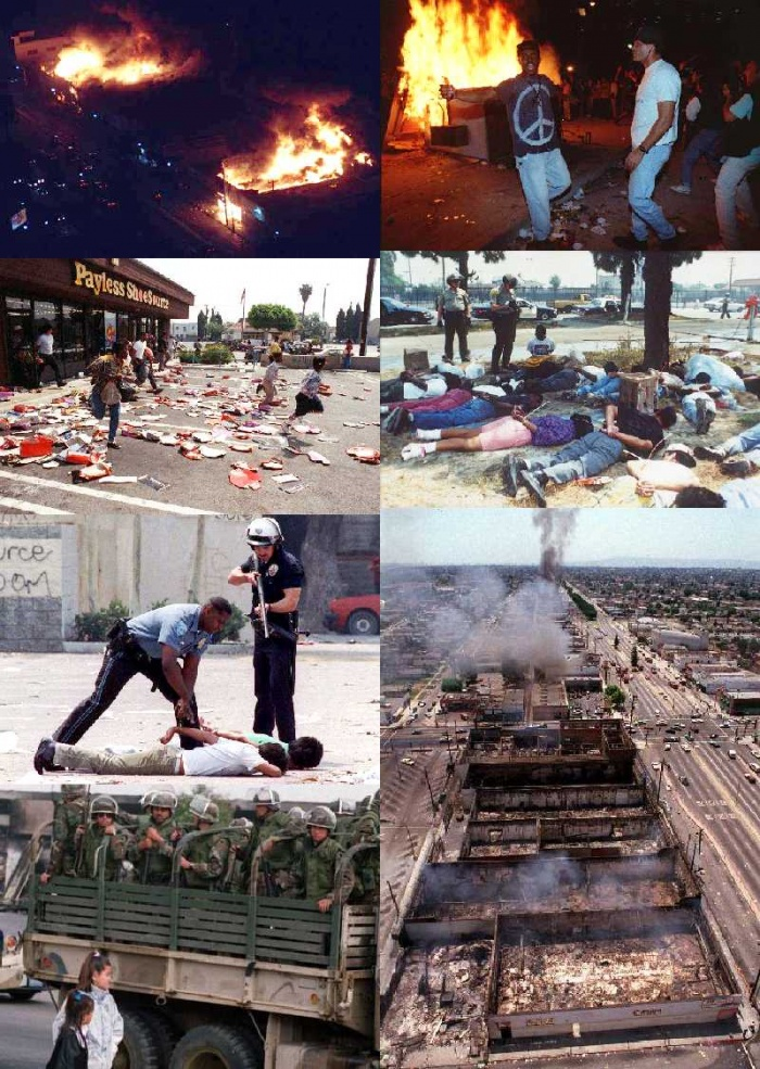 the los angeles riots This weekend marks 25 years since the riots that consumed los angeles for five days after a jury acquitted four lapd officers in the beating of rodney king the verdict sparked a national debate about racial injustice a debate that continues in the years since anger erupted on la's streets.